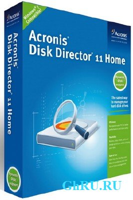 Acronis Disk Director Home 11.0.2343 Final RePack by KpoJIuK [2012, Русский]