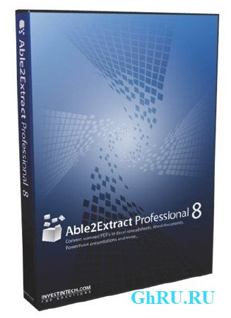 Able2Extract Professional 8.0.25 Portable