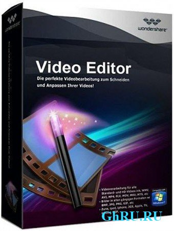 Wondershare Video Editor 3.1.3.0 Rus Portable