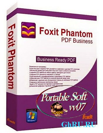 Portable Foxit PhantomPDF Business 6.0.5.0618
