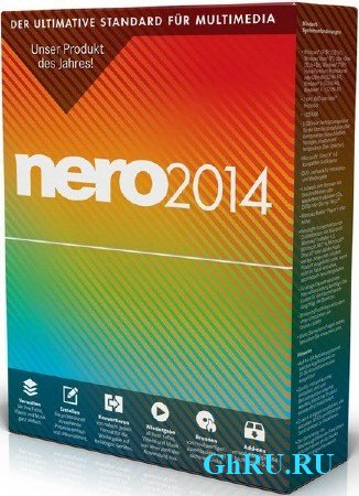 Nero Burning ROM 2014 v15.0.20000 Portable